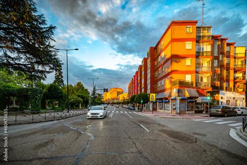 Valokuvatapetti Valladolid ciudad histórica y monumental de la vieja Europa