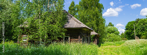 Fotografie, Tablou abandoned village houses