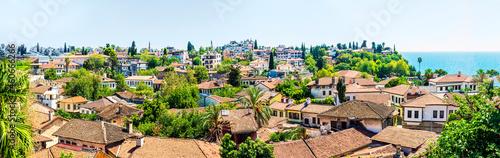 Fotografia, Obraz the old kaleichi district in Antalya