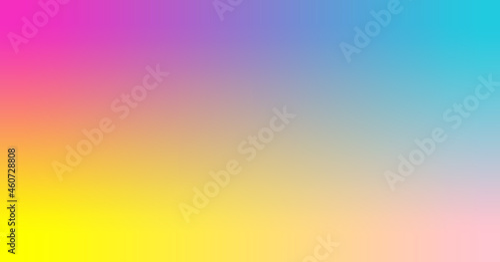 Photo fuchsia, turquoise, yellow, pink gradient wallpaper background vector illustrati