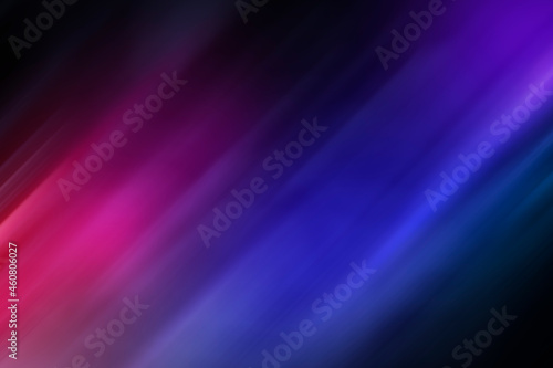 Soft and blurred pink, purple and blue background. Abstract vibrant multi-colored background. Motion blur. Copy space.