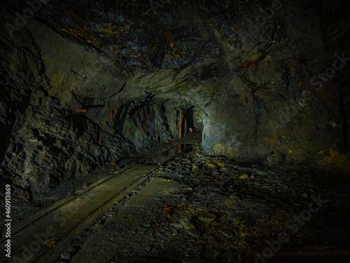 Fototapeta Das vergessene Bergwerk