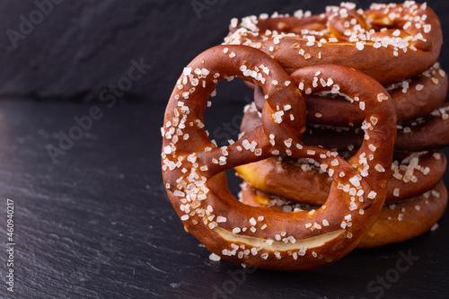 Fotografiet Bretzel tradition Bavarian snack
