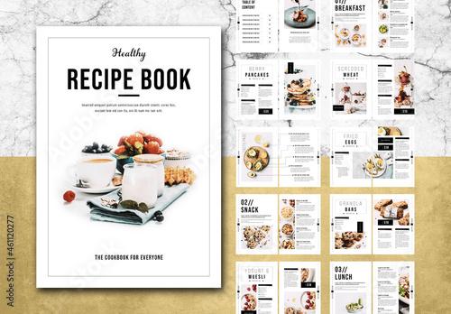 Cookbook Layout