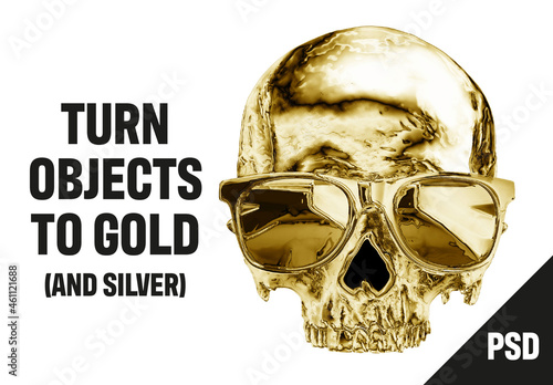 Turn Objects to Gold and Silver