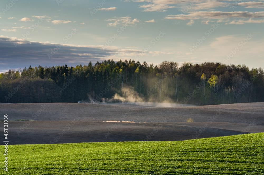 krajobraz na wsi