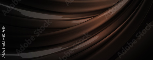 Fotografering abstract, aluminum, background, black, chrome, composition, contemporary, curve,
