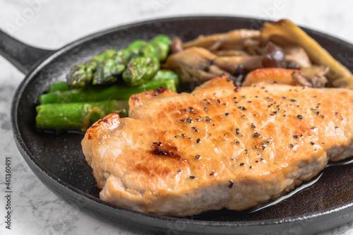Obraz na plátně 豚肉ステーキ トンテキ