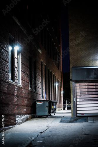 Fotografering Alleyway