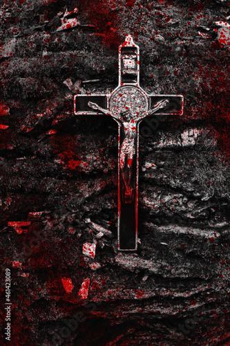 Fotografiet Krzyż.