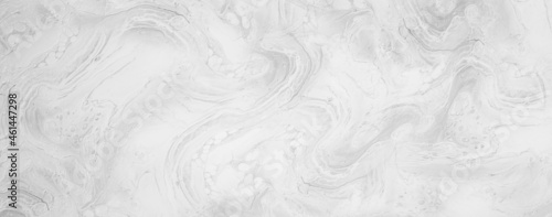 Tela Liquid Marble white silver pattern gray ink graphic background abstract light el