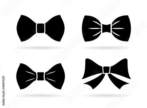 Fotografia Bow tie vector icon