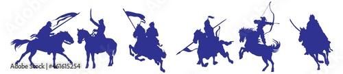 Fotografiet cavalry icons