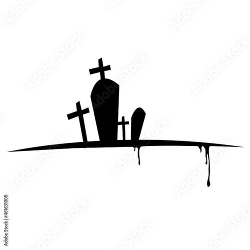 Fotografía Cemetery Christ death Halloween Death Cross thumb