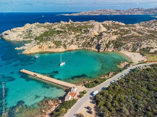 Fototapeta La Maddalena, Sardegna, Spiaggia Spalmatore