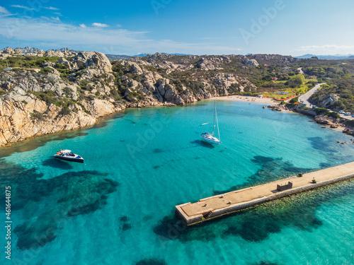 Obraz na plátně La Maddalena, Sardegna, Spiaggia Spalmatore