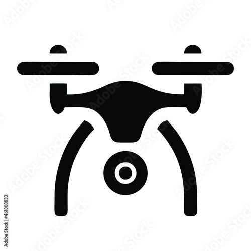 Tablou Canvas smart drone icon isolated on white background from internet of things collection