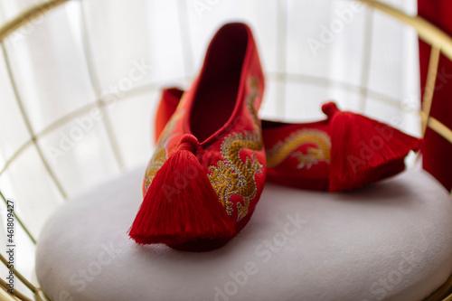Fotografie, Obraz 그녀의 결혼식 날