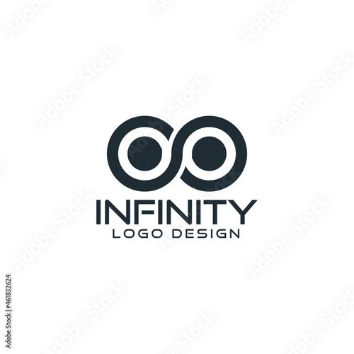 Obraz na plátně Infinity logo vector illustration