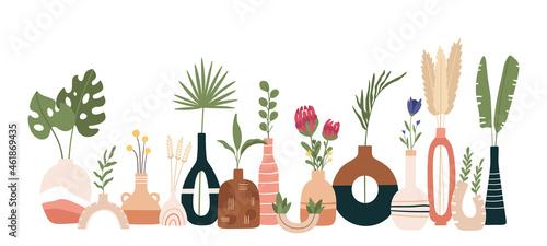 Obraz na plátně Ceramic vase poster