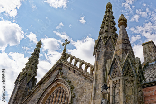 Fototapeta St Mary's Roman Catholic Church in Inverness - Scotland