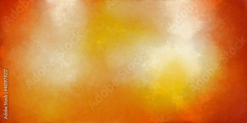 Photo Abstract autumn red orange grange background with soft transitions