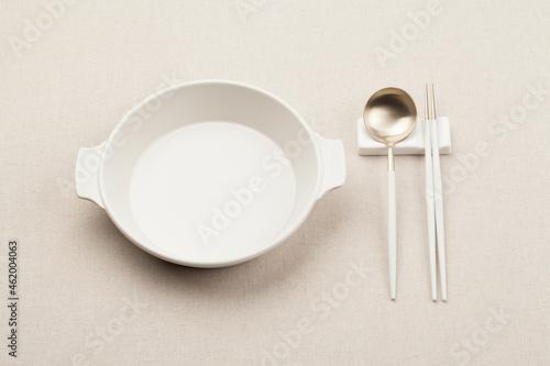 Canvas Print 접시,그릇,빈접시