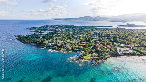 Fotografiet manors in heaven on italy island