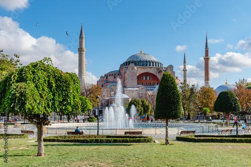 Canvastavla Hagia Sophia or Ayasofya (Turkish), Istanbul, Turkey