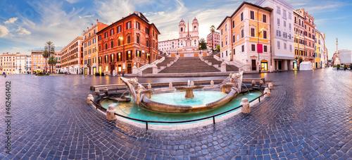 Fountain of the Boat near the Spanish Steps, Rome, Italy