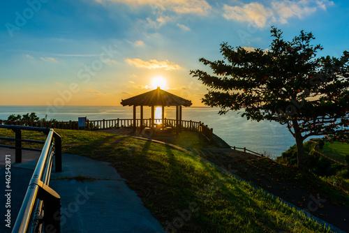 Fotografie, Obraz 知念岬から観る日の出