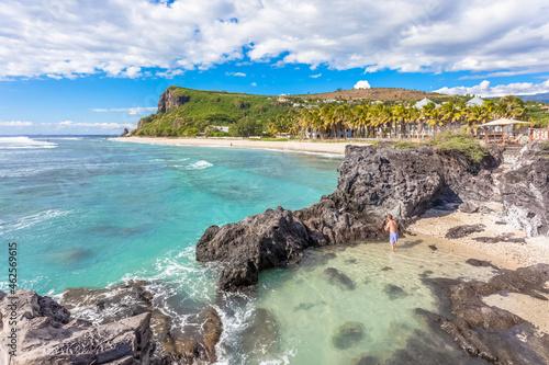 Canvastavla Crique de Boucan et cap Champagne, île de la Réunion