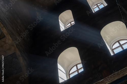 Fototapeta Interior decoration of the Transfiguration Cathedral in Chernigov