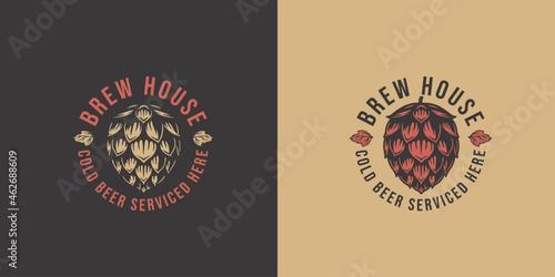 Beer hop for bar Fototapet