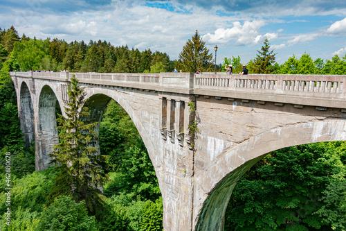 stańczyki most mosty wiadukt kolejowy kolejowe akwedukt tory pociąg kolej