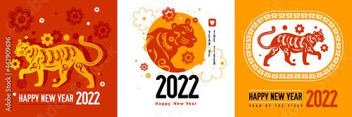 Chinese Zodiac Design Concept Fotobehang