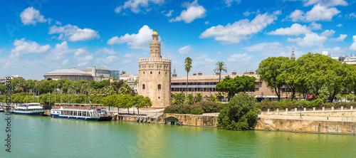 Golden tower in Sevilla