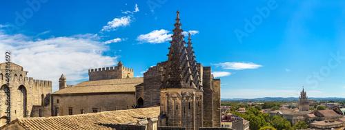 Obraz na plátně Papal palace in Avignon