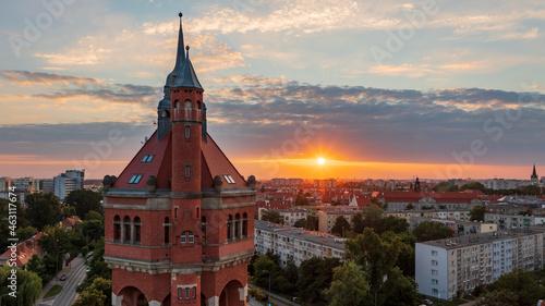 Wieża ciśnień, Borek, Krzyki, Wrocław, Poland, Polska
