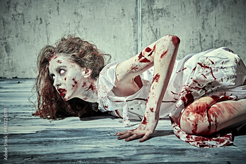 Obraz na plátne suffering of the possessed