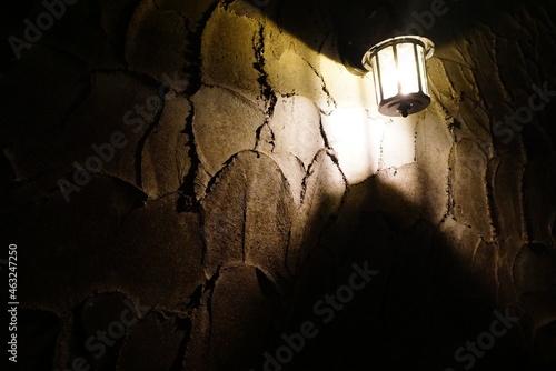 Fotografia, Obraz 魔女が住んでいそうな雰囲気の家のライト