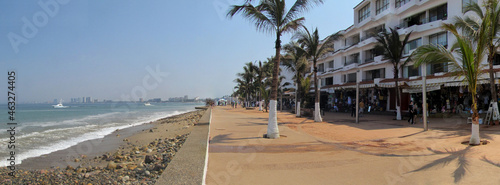 Foto Waterfront boulevard in Puerto Vallarta