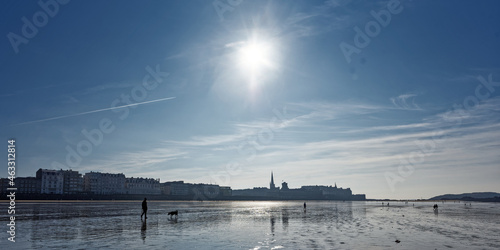 Photo Saint-malo à marée basse