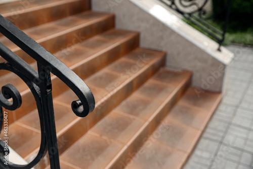 Valokuva View of modern stairs outdoors