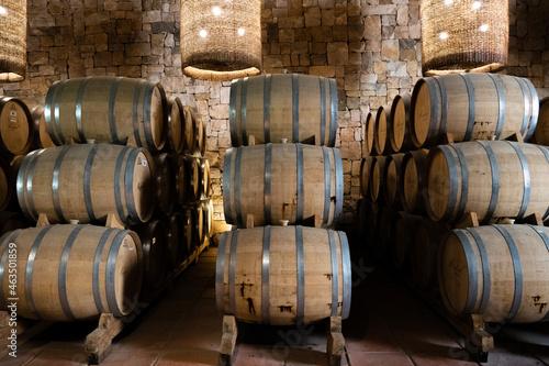Fotografia Wine Barrels - October 2021