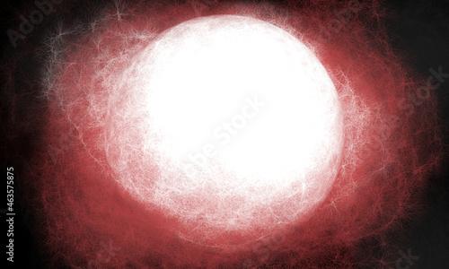 Fotografie, Obraz 赤い恒星 背景 壁紙 イラスト