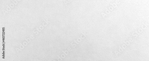 Foto Panorama of White genuine cow leather of the sofa texture and background seamles