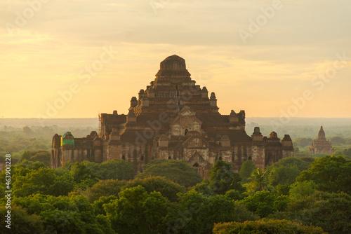 Fototapeta Pagodas at Sunrise in Bagan, Myanmar (Burma)