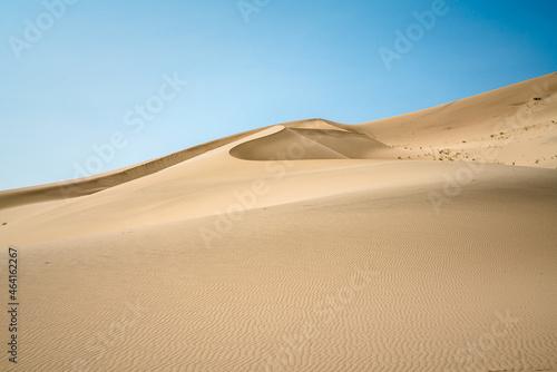 Canvas Sand Dunes with blue sky