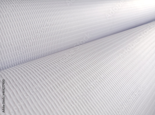 Foto rough texture and striped white surface